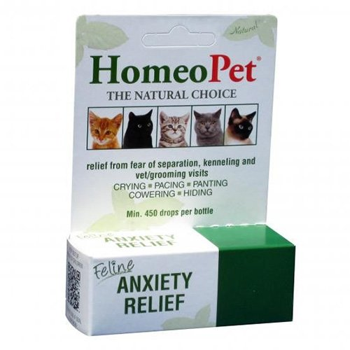 HomeoPet Feline Anxiety Relief for Cats