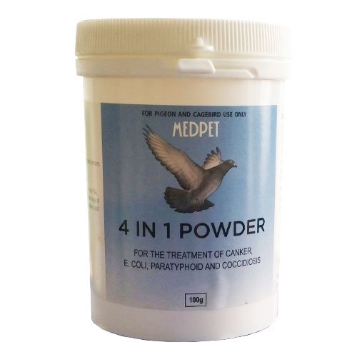 Medpet 4-in-1 Powder for Bird Supplies