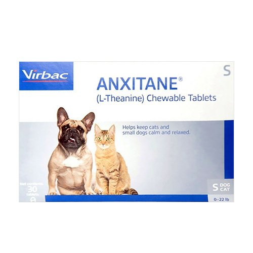 Anxitane Chewable Tablets for Small Cats & Dogs