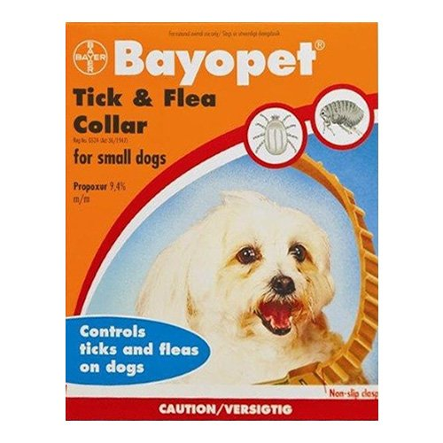 Bayopet Tick & Flea Collar for Small Dogs