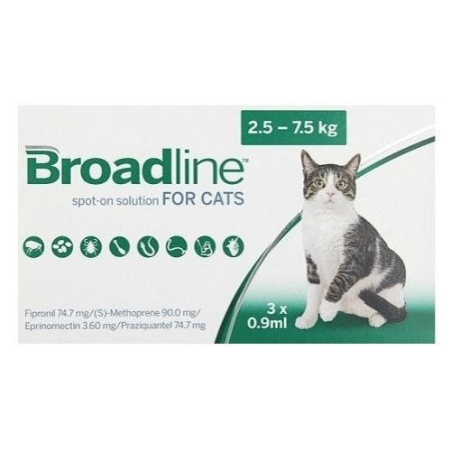 Broadline Spot-On for Large Cats 5.5 to 16.5 lbs