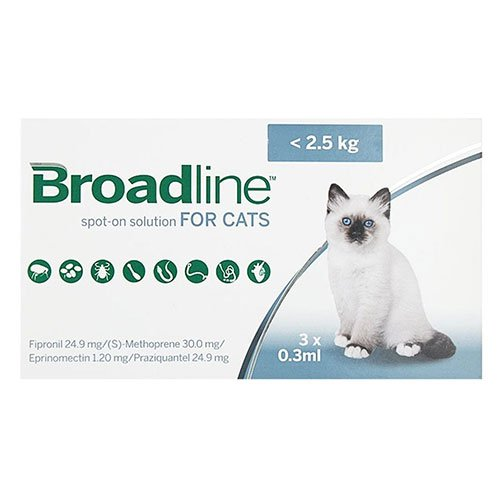 Broadline Spot-On for Cat Supplies