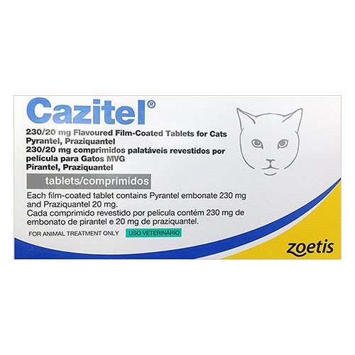 Cazitel Flavored Tablets for Cat Supplies