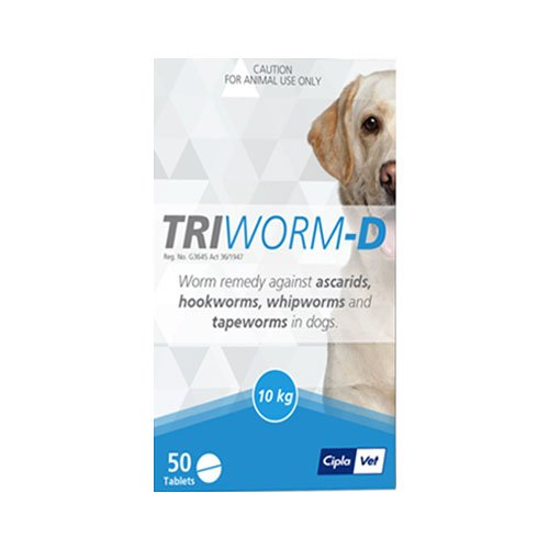 Triworm-D Tablets for Dogs
