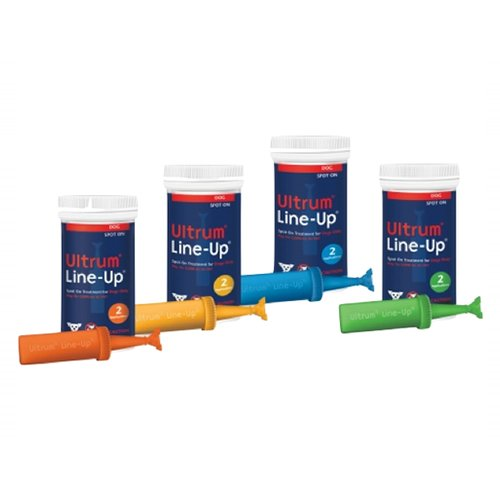 Ultrum Line-Up Spot On for Small Dogs (up to 22 lbs) Blue