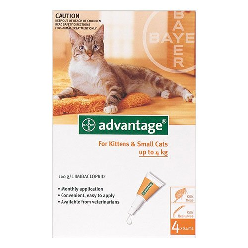 Advantage for Cat Supplies