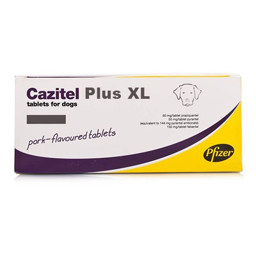 Cazitel Plus for Small and Medium Dogs (10 kg)
