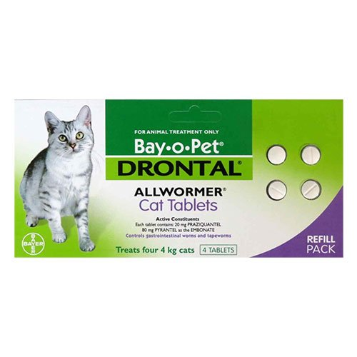 Drontal Wormers for Cat Supplies