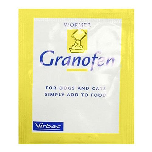 Granofen Worming Granules for Dogs & Cats - 2 gm
