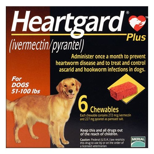 Heartgard Plus Chewables For Large Dog 23 To 45 Kg (Brown)