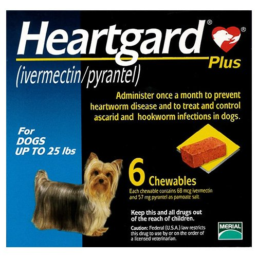 Heartgard Plus Chewables for Dog Supplies