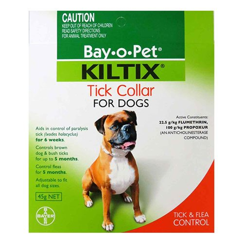 Kiltix Tick Collar for Dog Supplies