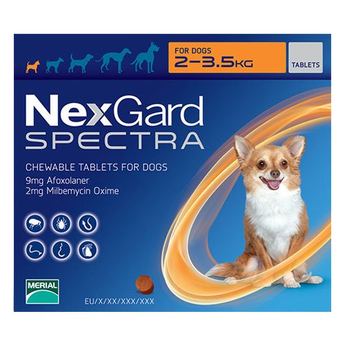Nexgard Spectra Chewables for Dog Supplies
