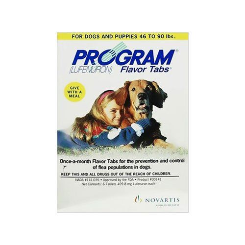 Program Tablets For Medium Dogs 6.8 To 20Kg