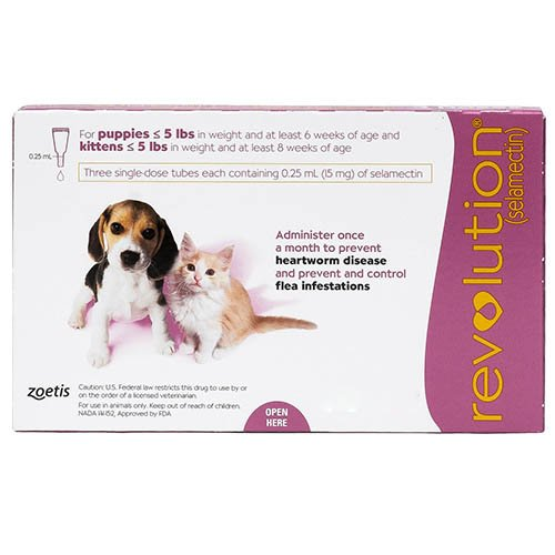 Revolution For Kittens (Pink) up to 2.5 kg