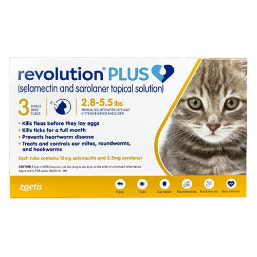 Revolution Plus for Cat Supplies